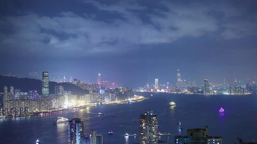 Hong Kong architecture. Timelapse   Shutterstock HD Video #4871609