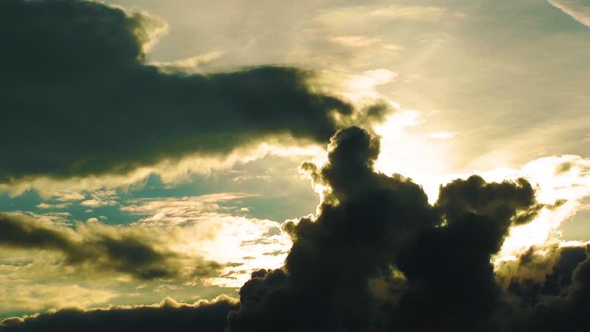 Dark Clouds Time Lapse | Shutterstock HD Video #4956989