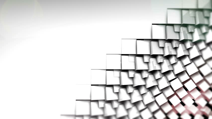 Black and white cubes screen wipe transition with alpha channel | Shutterstock HD Video #4979468