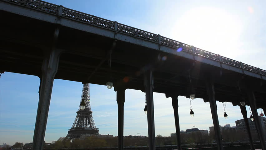 Paris Eiffel Tower Day Stock Footage Video 100 Royalty Free 4982189 Shutterstock