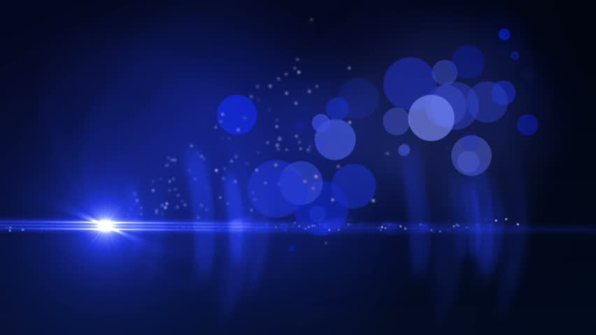 elegant blue background - abstract motion looping background stock