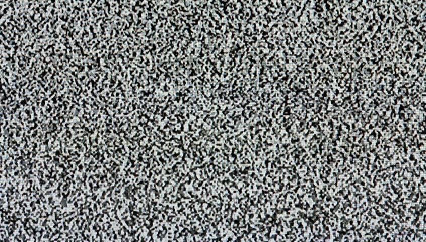 Tv static lines