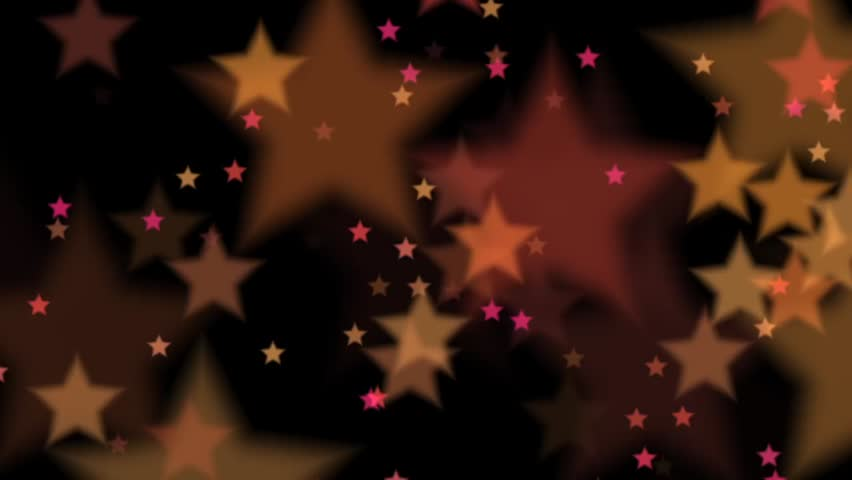 Colorful stars on black background loop  | Shutterstock HD Video #5101529