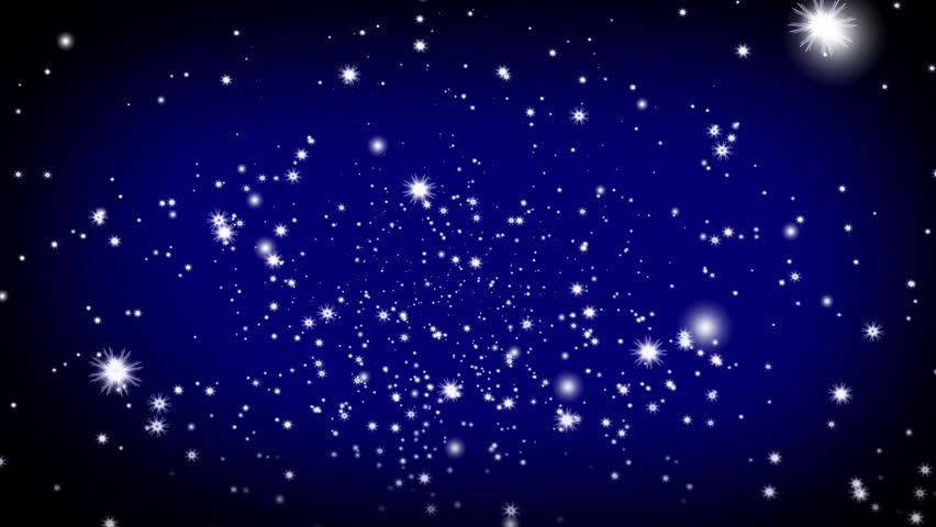Картинки, картинка звездного неба с анимацией
