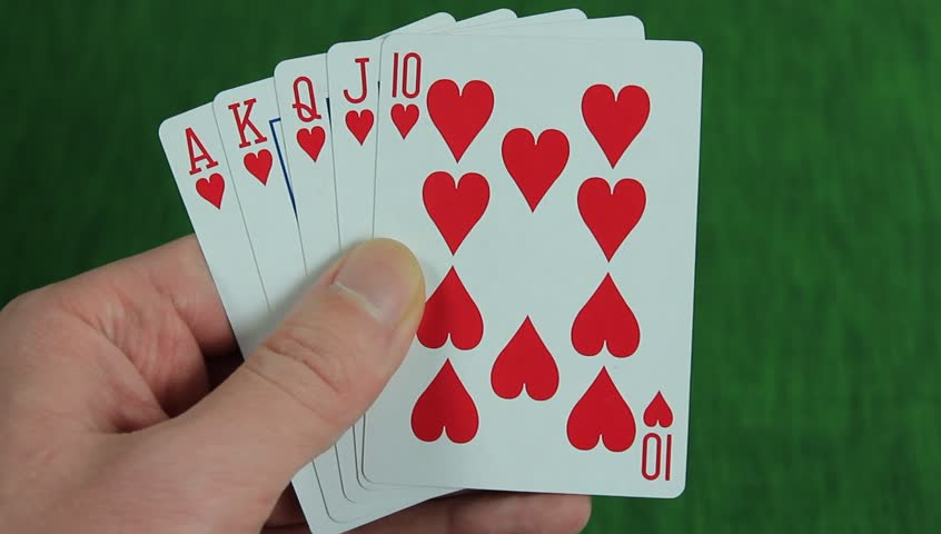 Five Card Draw Folding With Straight Flush