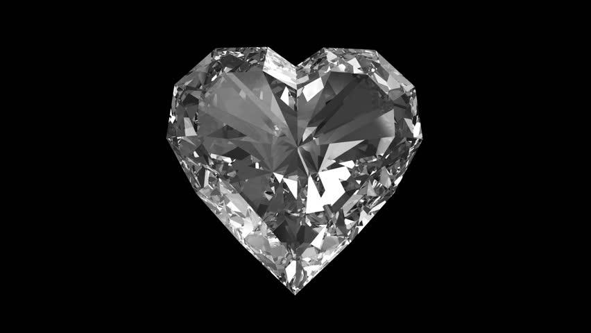 Diamond heart images