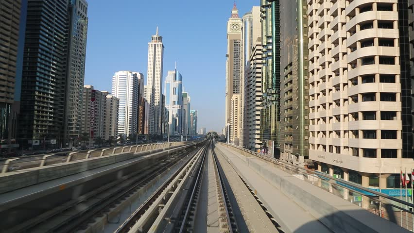 DUBAI, UAE - NOVEMBER 14 - The construction cost of the Dubai Metro project has shot up by about 80 per cent from the original US$ 4.2 billion to US$ 7.6 billion. Picture taken on November 14, 2012. pov