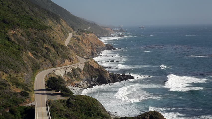 1080p Highway 1, Big Sur, California