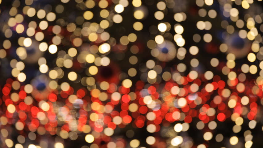 Visually Similar Footage Hd0015Close Up Of A Large Public Display Christmas Tree Outdoors With Lights