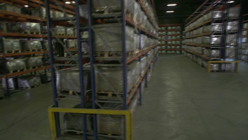 Logistics in a factory