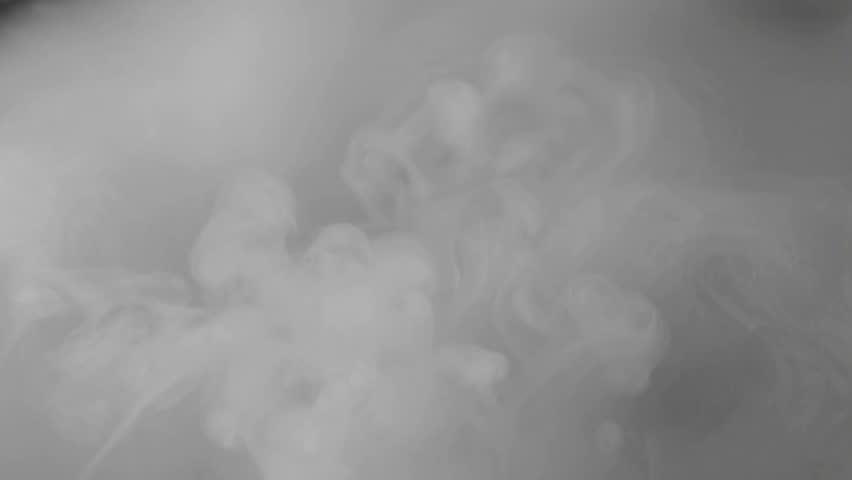 boiling dry ice vapor