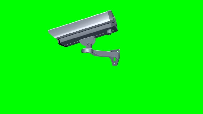 moving security cam clip green screen video footage