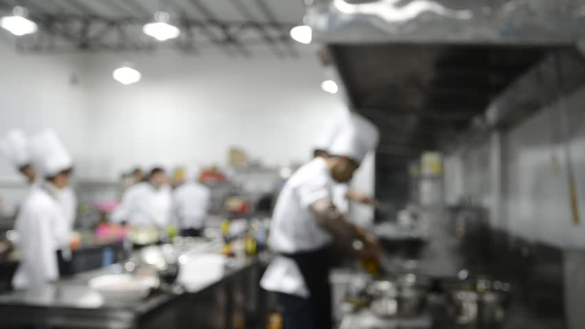 Restaurant Kitchen Chefs chef kitchen stock footage video | shutterstock