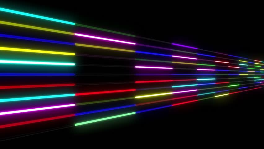 Neon light Tube. | Shutterstock HD Video #5311559