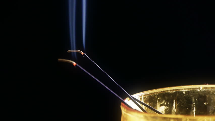 Incense Stock Footage Video Shutterstock