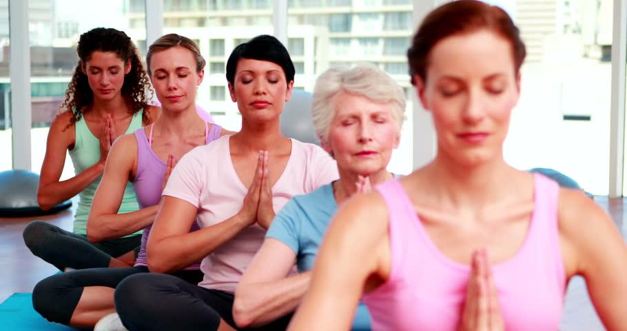 Nude group yoga Nude Photos 4