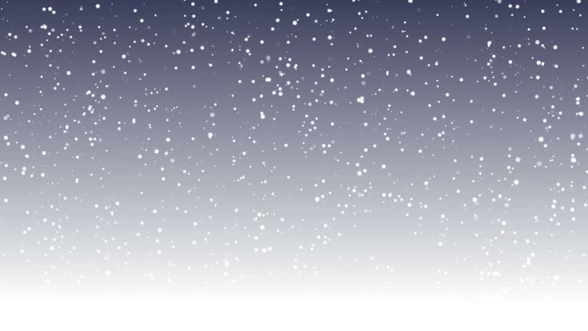 Moving Snowflakes Background