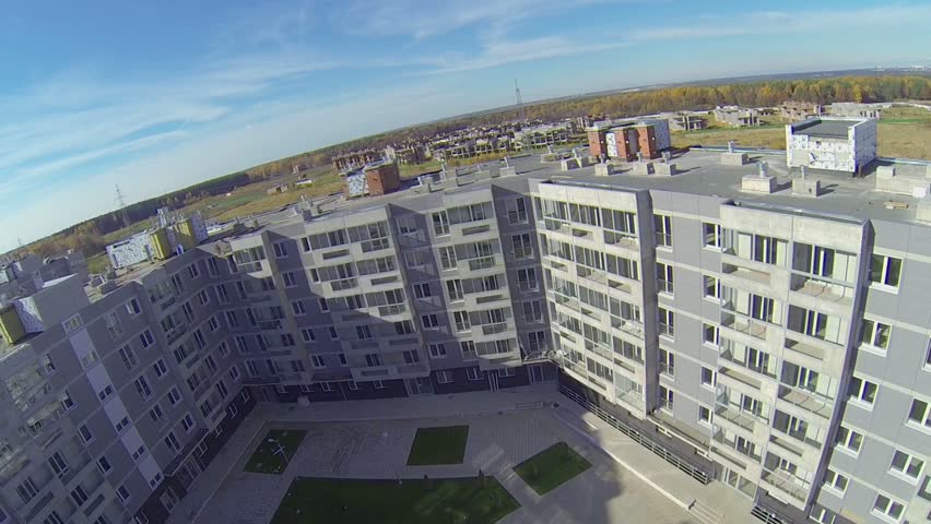 Panorama Of New Buildings Stock Footage Video 100 Royalty Free 5409059