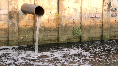 Waste water to canal