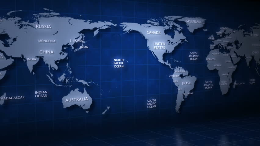 Stock Video Clip of Global map Earth Shutterstock