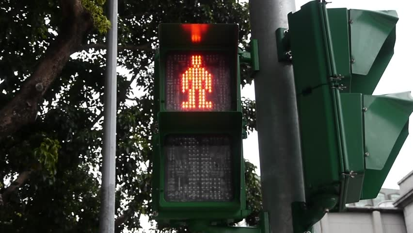 Traffic light for pedestrian