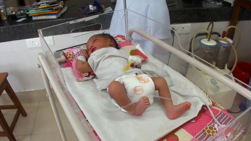 Image result for infant in indian hospital