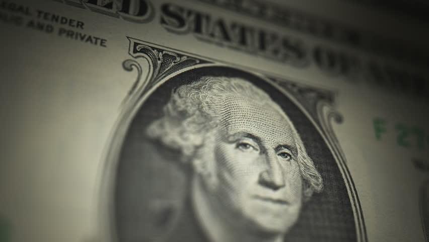 U.S. Currency $1 Bill   Shutterstock HD Video #5516909
