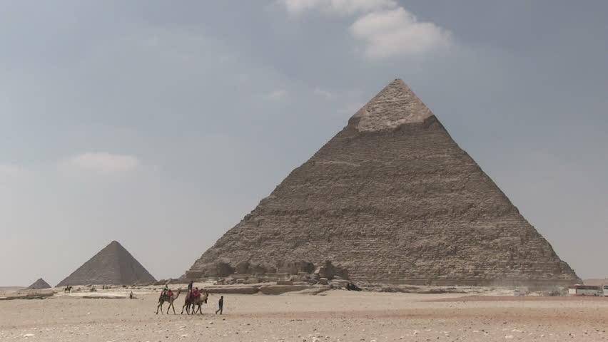 Pyramid, Giza, Egypt | Shutterstock HD Video #5552549