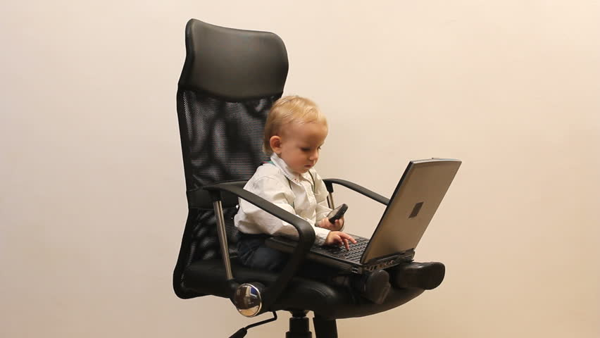cute childs office chair. cute little child play the manager enjoy to work phone laptop office childs chair l
