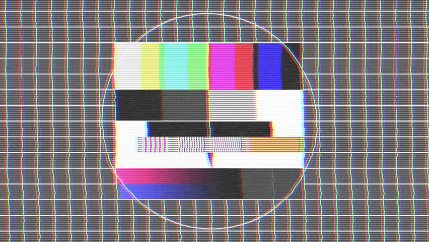 Test Pattern Tv, Bad Signal Stock Footage Video (100% Royalty-free) 5602289  | Shutterstock