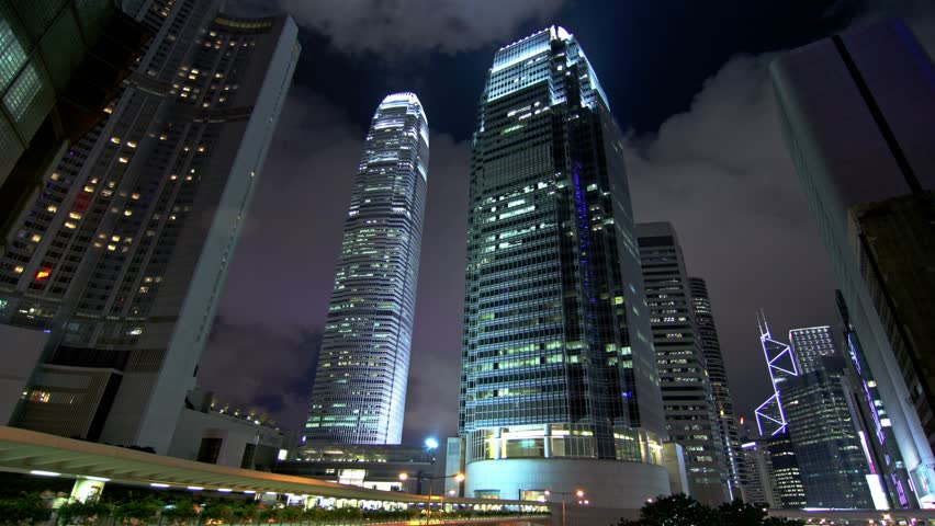 cool office buildings. Office Buildings At Night. 4K Cool Tone. City Timelapse Shot Of Commercial Under Cloudy Sky Stock Footage Video 5615429 |