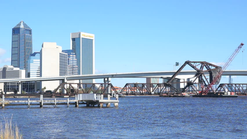 JACKSONVILLE FLORIDA January Downtown View Of Jacksonville On - Longest river in us