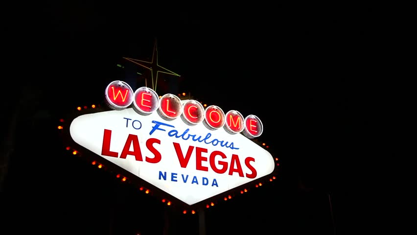 Las Vegas Welcome Sign Wall Quotes? Wall Art Decal | WallQuotes.com