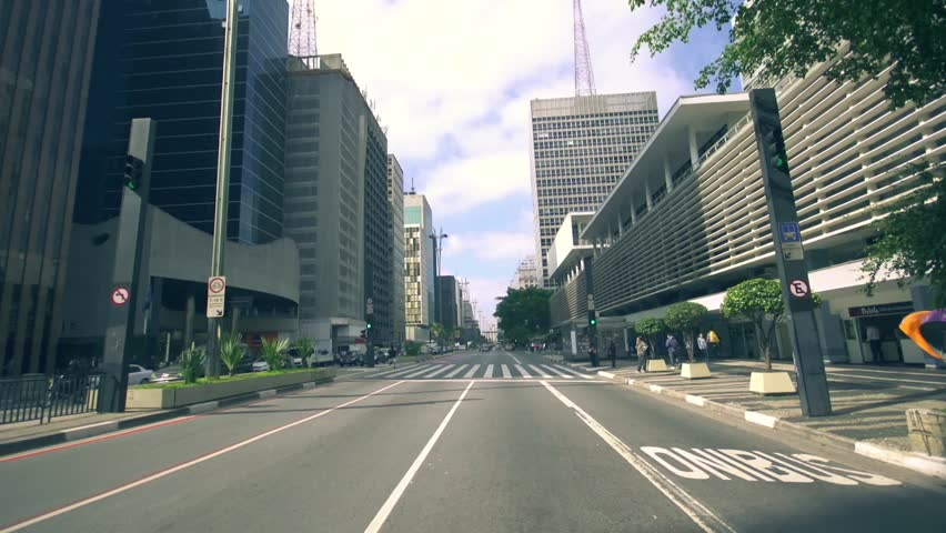 Commuter traffic day   sao paulo brazil pov driving  | Shutterstock HD Video #5670779