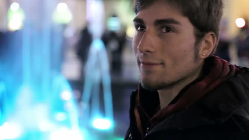 Man waiting for girlfriend | Shutterstock HD Video #5750669