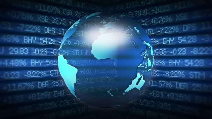Global Finance Stock Market Animation | Shutterstock HD Video #5830049