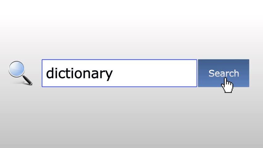 Dictionary - graphics browser search query, web page
