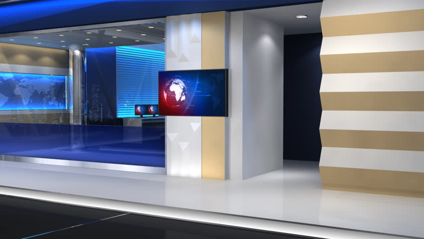 News Studio, an 8-second Zoom Stock Footage Video (100% Royalty-free)  5891639 | Shutterstock