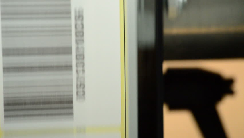 Barcode, label-generating machine