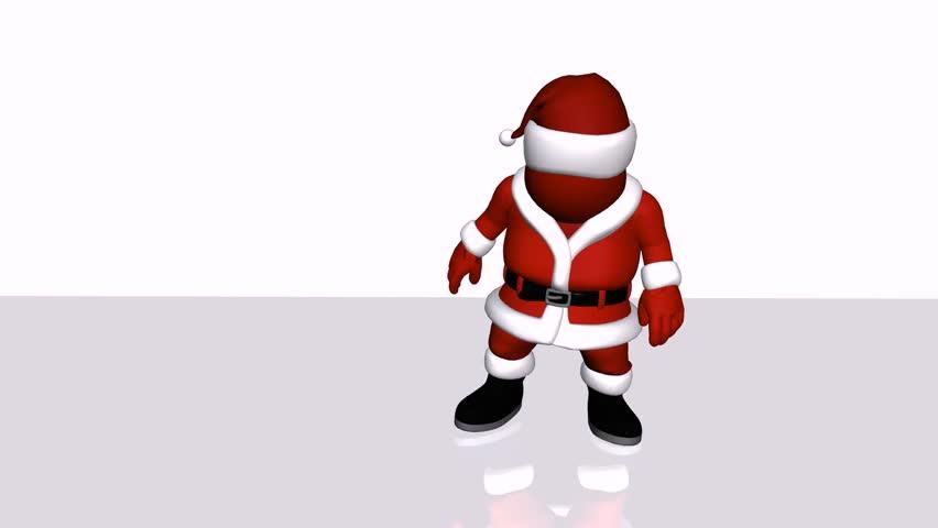 santa hohoho hd stock video clip - Santa Hohoho 2