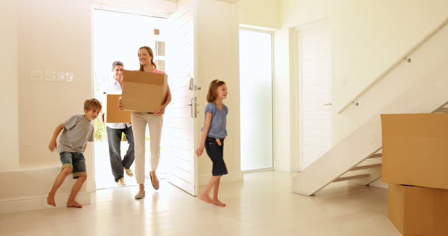 New Home Family Stock Footage Video | Shutterstock