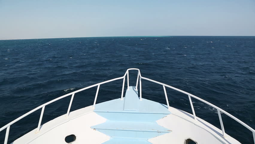 Bow Of A Boat >> View On Yacht Bow Floating Stock Footage Video 100 Royalty Free 6011729 Shutterstock
