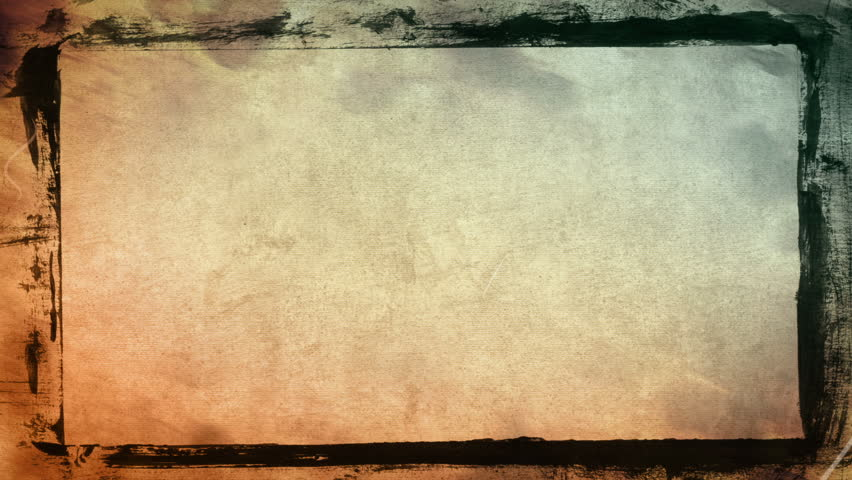 Grunge Textures And Frame Computer Generated Seamless Loop Abstract Motion Background