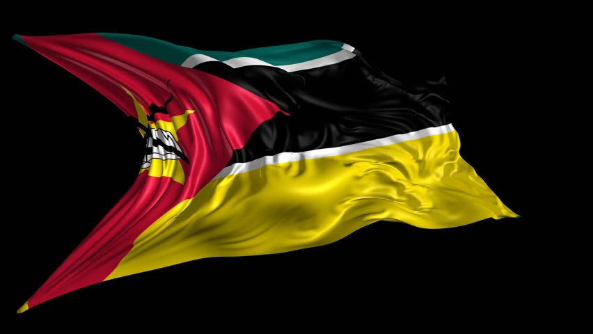 Flag of Mozambique Beautiful 3d Stock Footage Video (100% Royalty-free)  6328289 | Shutterstock