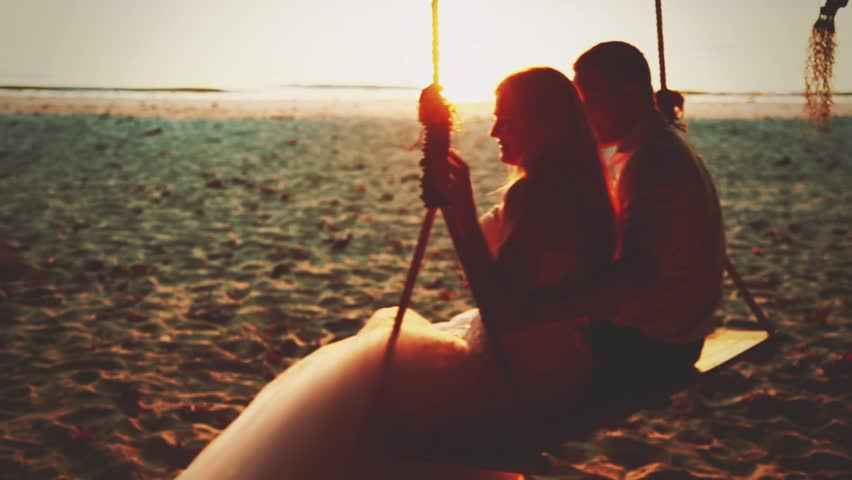 Wedding couple posing in the sunlight | Shutterstock HD Video #6413912