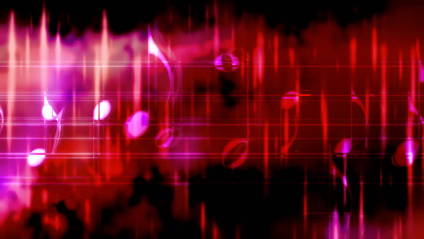 Looping Abstract Grunge Music Animated Stock Footage Video 100