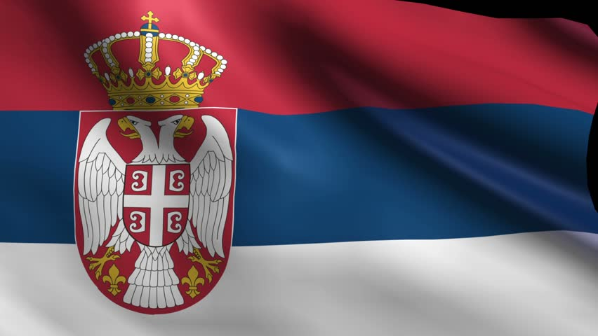 Flag Of Serbia Animation Loop Stock Footage Video 4952627 ...