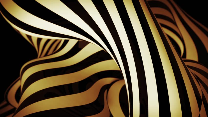 Abstract motion background with moving zebra lines | Shutterstock HD Video #6449999