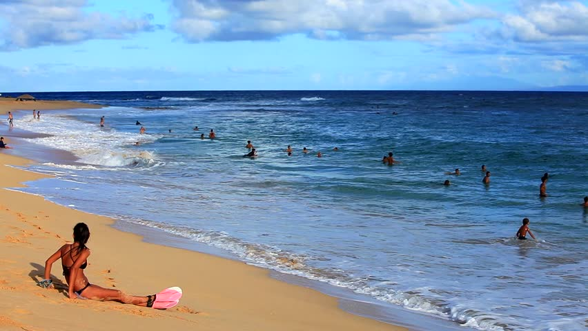SANDY BEACH HAWAII USA