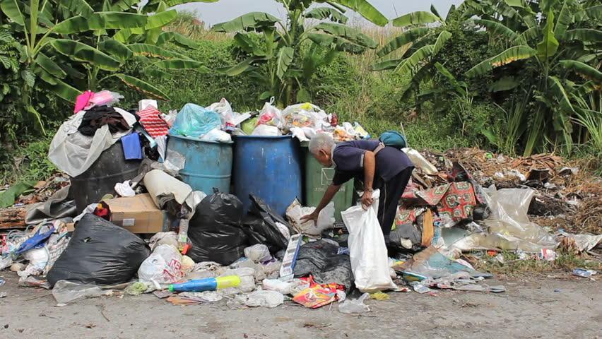 bangkok asian street trash